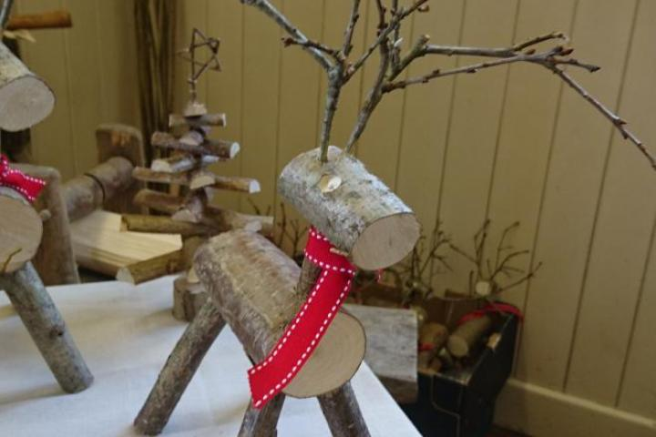 Martin Evans reindeer decorations
